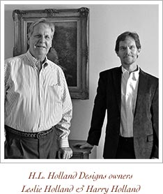 HL Holland Designs owners Leslie Holland and Harry Holland