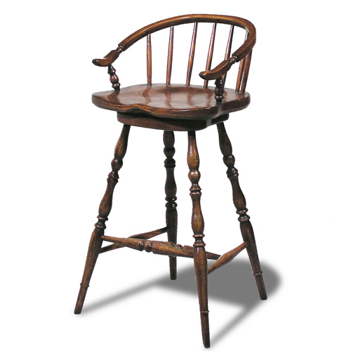 Low-Back Barstool