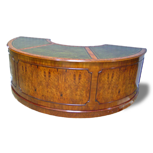 antique reproduction desk Half Round Executive Desk : 1820aLG from www.hlholland.com size 500 x 500 jpeg 168kB