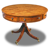 Drum Table with solid top
