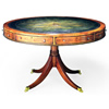 Drum Table in yew