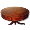 Drum Table with Mariner's star