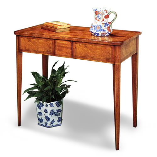 Sheraton Inlaid Console Table
