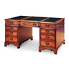Breakfronted Pedestal Desk
