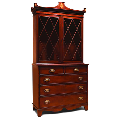 Hepplewhite China Cabinet