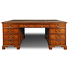 Regency Pedestal Desk