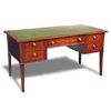 Country Italian Writing Table, Mahogany
