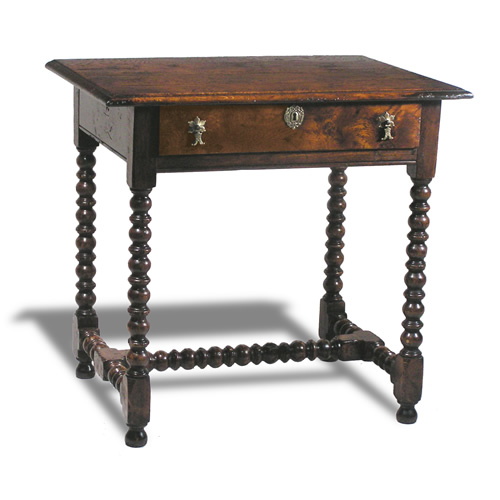 antique reproduction table Bobbin Leg Side Table : 9909LG from hlholland.com size 500 x 500 jpeg 47kB
