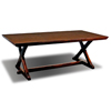 Lyon Trestle Table with leaf