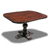 Baluster Pedestal Table