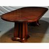 Noir Double Pedestal Table